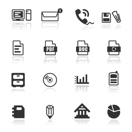 dichiarazione: Icon set WebOffice