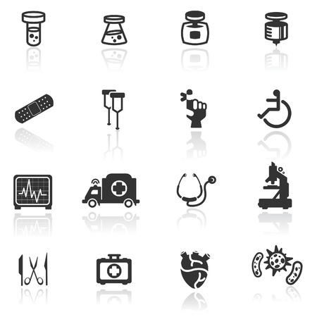 scissors icon: Icon set  medical