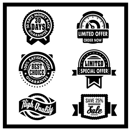 Badges Collection Vector