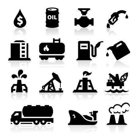 oliedrum: Olie iconen