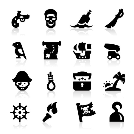 criminals: Pirates icon Illustration