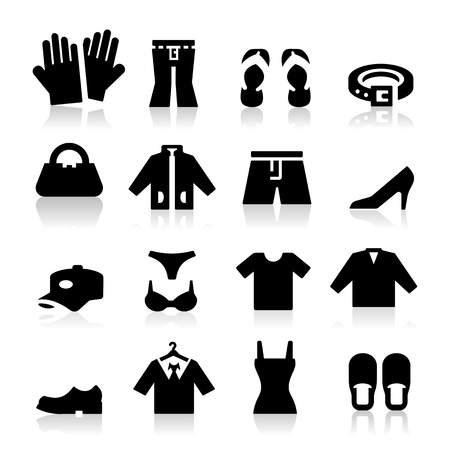 Negozio di abbigliamento Icona