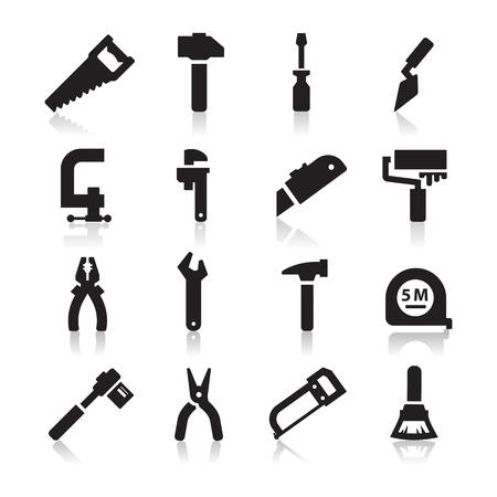 the hammer: Herramientas de Iconos Vectores