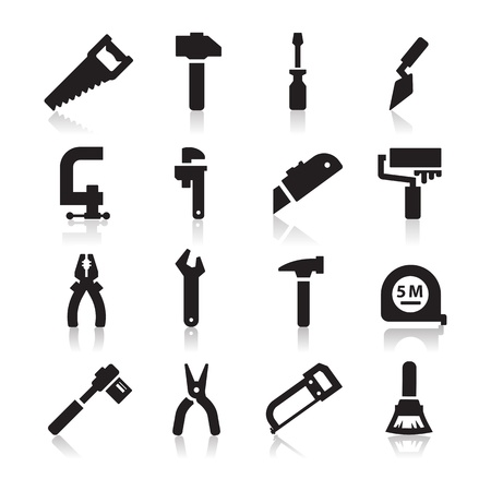 trowel: Tools Icons