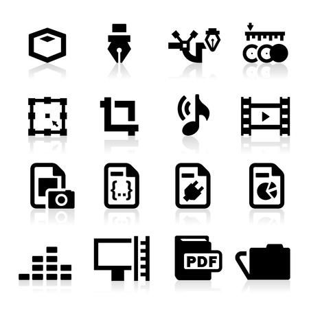 Graphic Design icon Stock Vector - 15302742