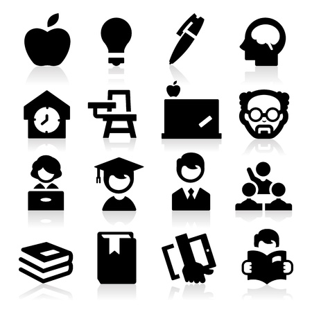 icons: High education Illustration