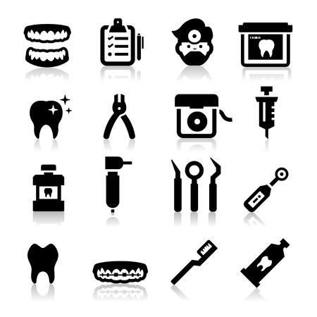 dentiste: Icônes dentaires