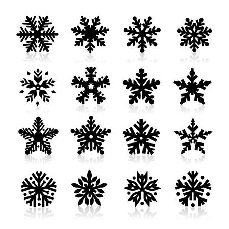 Snowflake Icon Stock Vector - 16258884