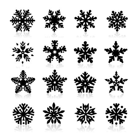 Snowflake Icon Stock Vector - 16258884