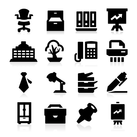 poise: Iconos de Oficina Vectores