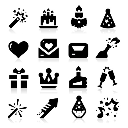 hat new year s eve: Celebration Icons