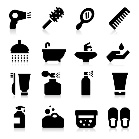 beauty care: Personal Care Icons