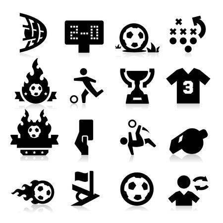 the football player: Iconos de f�tbol