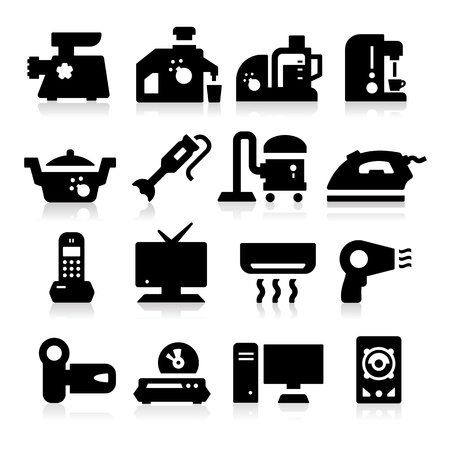 fryer: Electronic Devices Icons