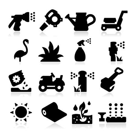 pulverizador: Iconos Césped
