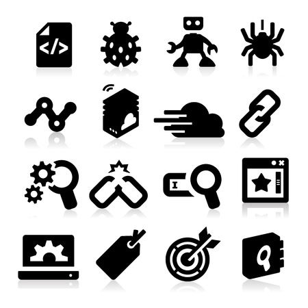 keywords link: SEO Icons