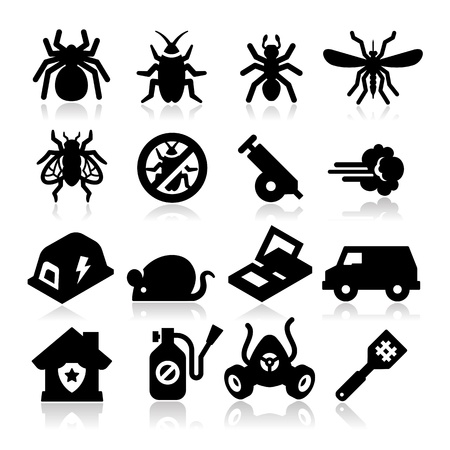 insecticide: Exterminator Icons