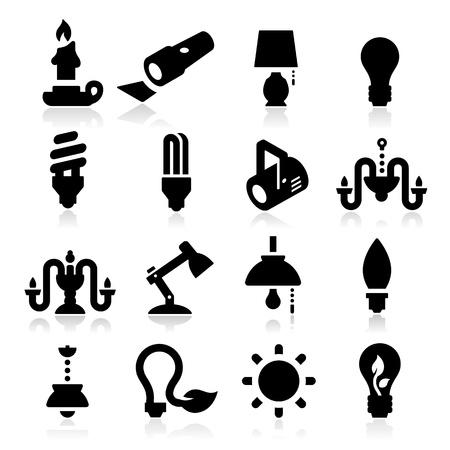 Licht Iconen Stockfoto - 20984913