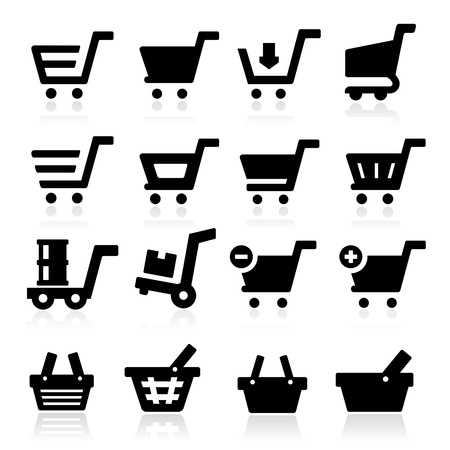 basket: Shopping Cart Icons