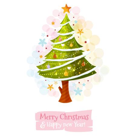 Rbol de Navidad Foto de archivo - 23863795