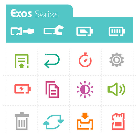 mobile icons: Mobile Icons - Exos Series