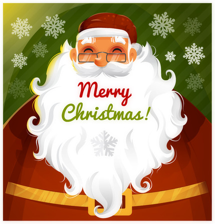 Santa Clause Vector character eps 10 Vettoriali