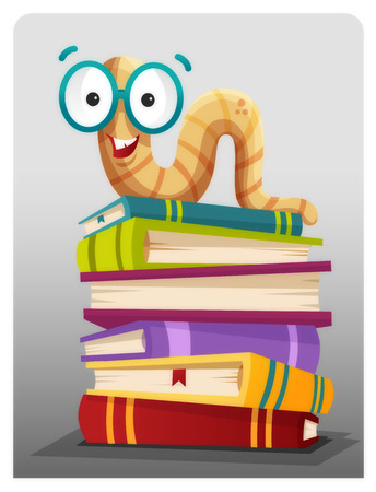 d�vorer: Rat de biblioth�que Illustration
