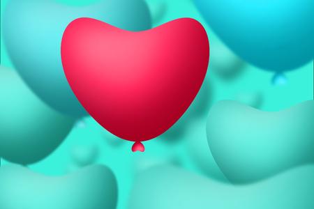 heart balloon posters