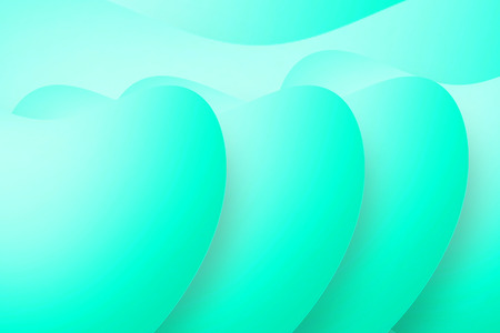 turquoise colored background Stock Photo
