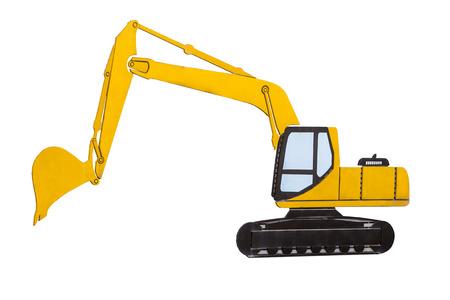 Engineering excavator model