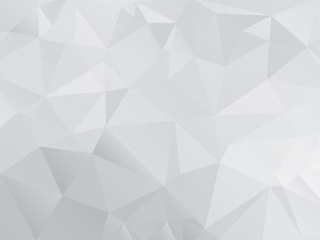 Gray Polygonal Mosaic Paper Background, Vector illustration