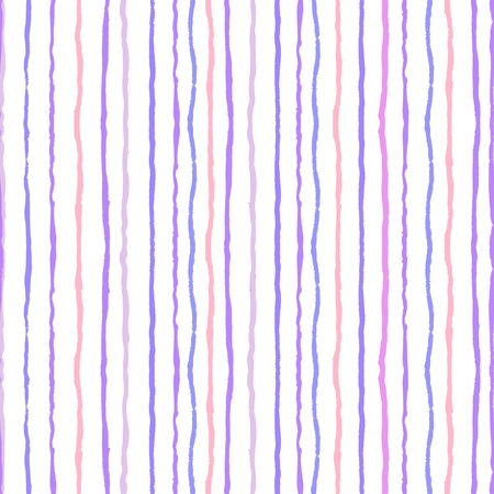Watercolor stripes seamless pattern, vector file Illustration