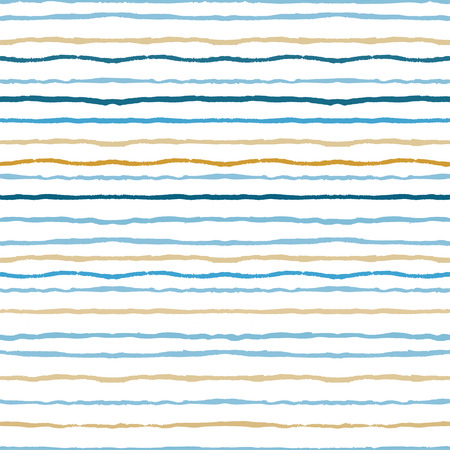 Watercolor stripes seamless pattern