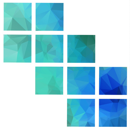 Color Polygonal vector Abstract Geometric backgrounds