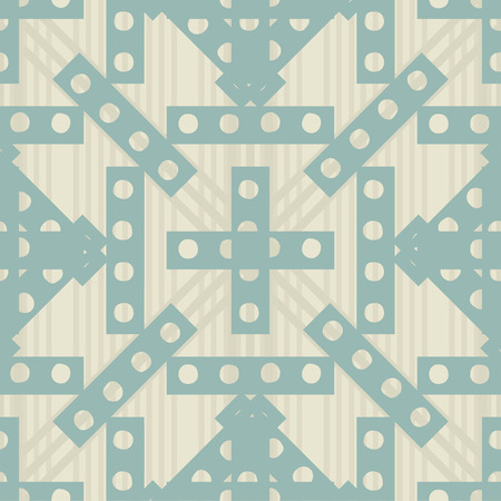 simple seamless vintage pattern for your design Vector
