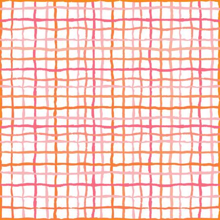 Watercolor stripes strokes seamless pattern,