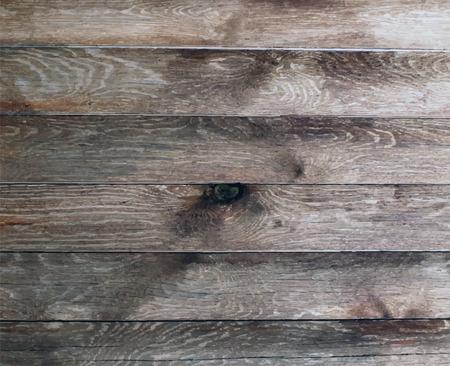 Vector wood texture. background old panels. Grunge retro vintage wooden texture, vector background. Vertical stripes. Stock Illustratie