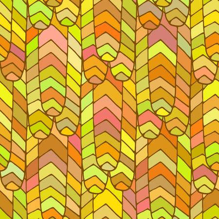 hintergrund gr�n gelb: Nahtlose Muster hellen Farbe Orange, gr�n, gelb