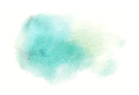 blue watercolor splash vector painted water color background Illustration