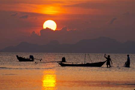 sunset life Stock Photo - 8778824