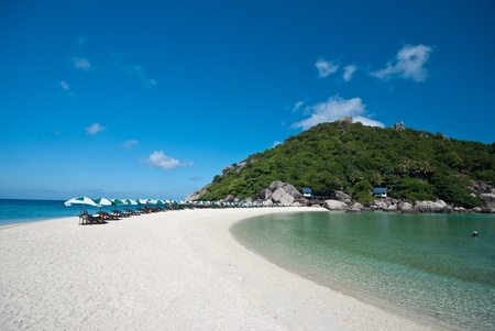 nangyuan island blue sky clear water Stock Photo