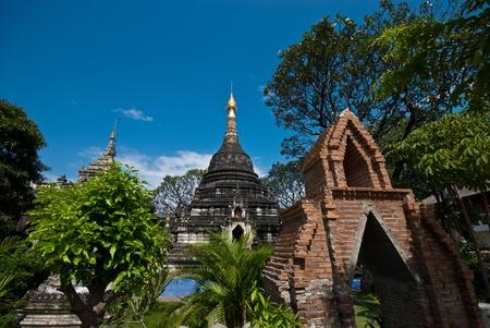 Thai north temple Stock Photo - 9595349