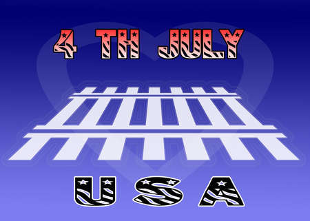 Art work for the 4th of july photo