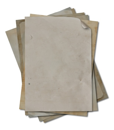 blank vintage paper detail Stock Photo - 9788020