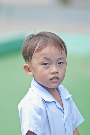young asian boy activity photo