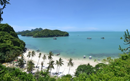 angthong national marine park ko samui thailand. photo