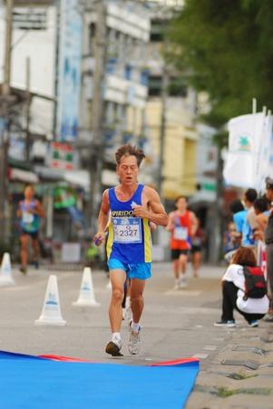 KO SAMUI, THAILAND - SEPTEMBER 18: Particpants of the