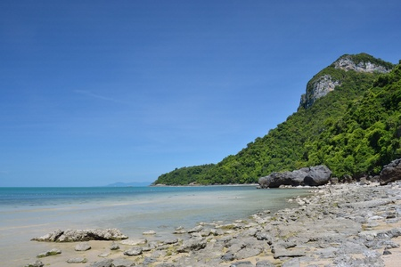angthong national marine park at Ko Samui Thailand view. Stock Photo - 10681023