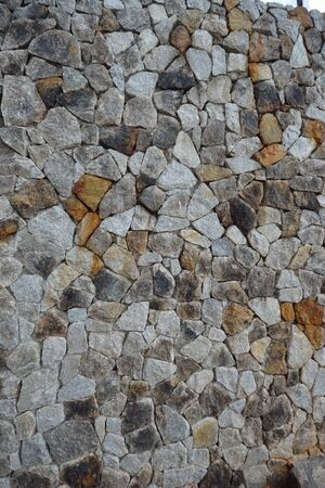 Nice mosaic rock wall background for general background use. photo