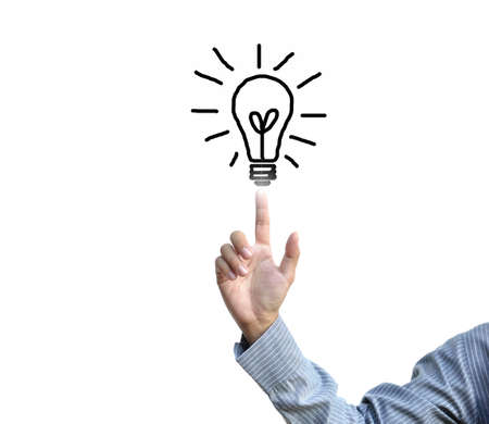 artwork for business idea from business person. Stock Photo - 11008361